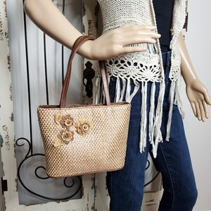 Handbags - Woven small handbag